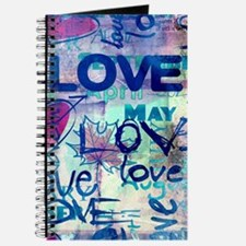 Abstract Love Painting Journal