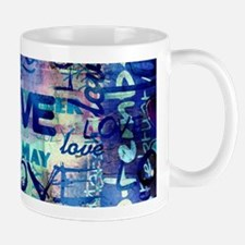 Abstract Love Painting Mugs