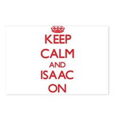 Keep Calm and Isaac ON Postcards (Package of 8)