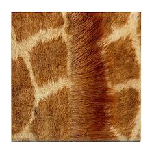 Giraffe Fur Tile Coaster