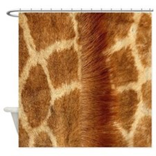 Giraffe Fur Shower Curtain