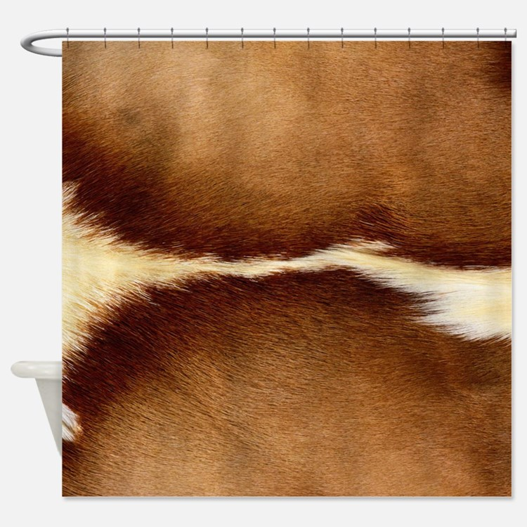 Antelope Fur Shower Curtain