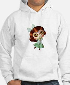 The Day of The Dead Vintage Doll Hoodie