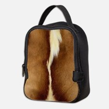 Antelope Fur Neoprene Lunch Bag