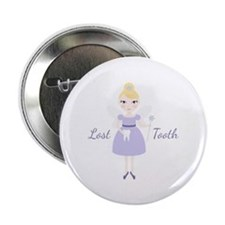 "Lost Tooth 2.25"" Button (100 pack)"