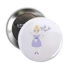 "Just Smile 2.25"" Button (10 pack)"