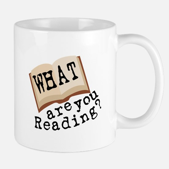 What Are You Reading? Mugs