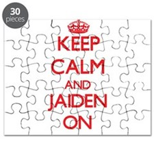 Keep Calm and Jaiden ON Puzzle