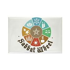 Sabbat Wheel Magnets