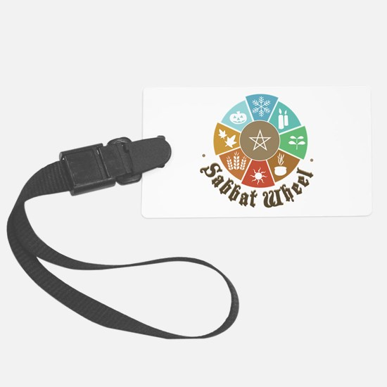 Sabbat Wheel Luggage Tag