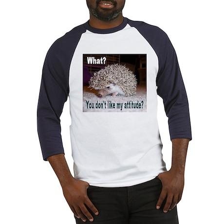 My Attitude Hedgehog Baseball Jersey