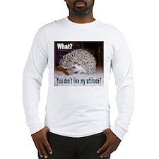 My Attitude Hedgehog Long Sleeve T-Shirt