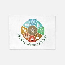 Follow Nature's Way 5'x7'Area Rug