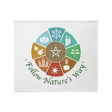Follow Nature's Way Throw Blanket