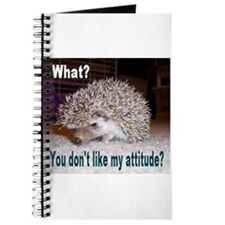 My Attitude Hedgehog Journal