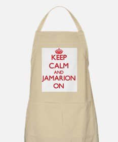 Keep Calm and Jamarion ON Apron