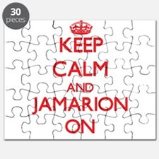 Keep Calm and Jamarion ON Puzzle
