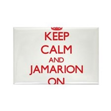 Keep Calm and Jamarion ON Magnets