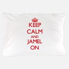 Keep Calm and Jamel ON Pillow Case