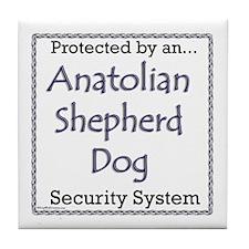 Anatolian Security Tile Coaster