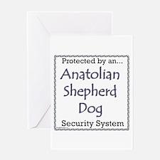 Anatolian Security Greeting Card