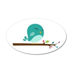 Blue Bird Wall Decal