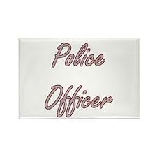 Police Officer Artistic Job Design Magnets