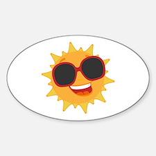 Happy Sun Decal