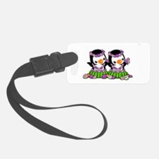 Aloha Penguins (2) Luggage Tag