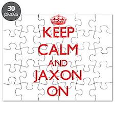 Keep Calm and Jaxon ON Puzzle