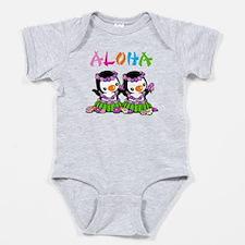 Aloha Penguins (2) Baby Bodysuit