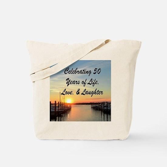 INSPIRATIONAL 50TH Tote Bag