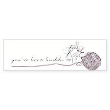 Badd Kittty Bumper Bumper Sticker