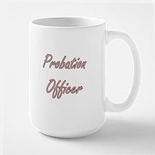 Probation Officer Artistic Job Design Mugs