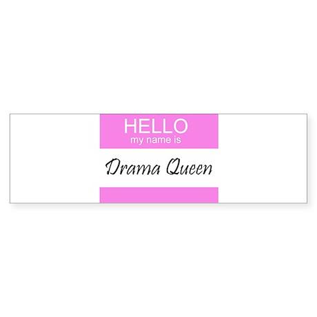 Drama Queen Bumper Sticker