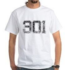 301 Area Code, Distressed, Vintage T-Shirt