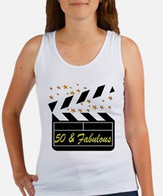 GLAMOROUS 50TH Women's Tank Top