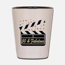 GLAMOROUS 50TH Shot Glass