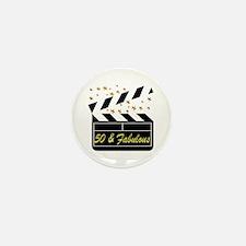 GLAMOROUS 50TH Mini Button (10 pack)