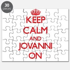 Keep Calm and Jovanni ON Puzzle
