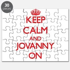 Keep Calm and Jovanny ON Puzzle