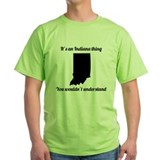 Funny indiana Green T-Shirt
