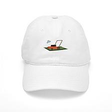 Lawnmower Baseball Baseball Cap