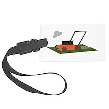 Lawnmower Luggage Tag