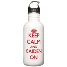 Keep Calm and Kaiden O Water Bottle