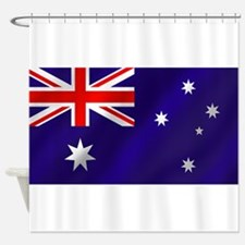 Flag of Australia Shower Curtain