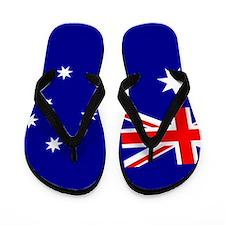 Flag of Australia Flip Flops