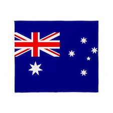Flag of Australia Throw Blanket