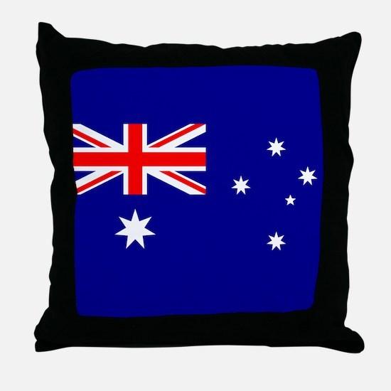 Flag of Australia Throw Pillow