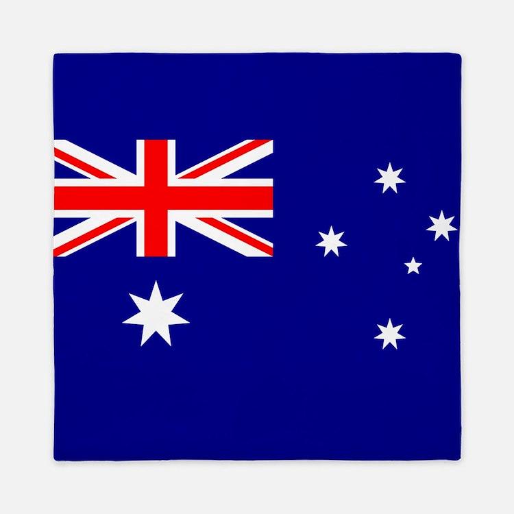 Flag of Australia Queen Duvet